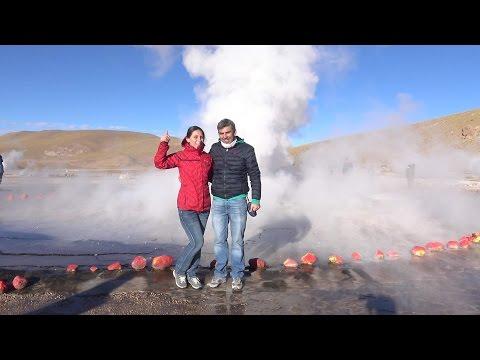 Geysers del Tatio Atacama in Chile