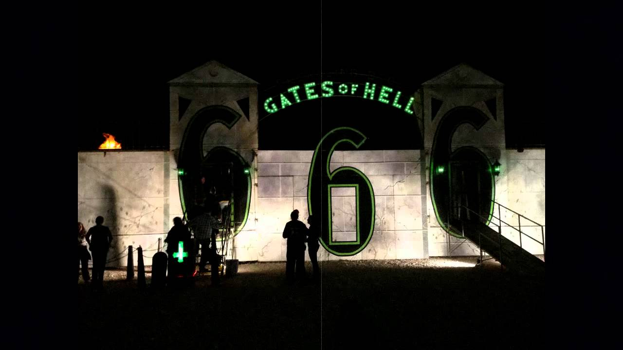 gates of hell house