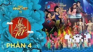 [FULL] Gala Nhạc Việt 11 - Về Nhà Đón Tết - Phần 4 - MC Trấn Thành, Hồ Ngọc Hà (Official)