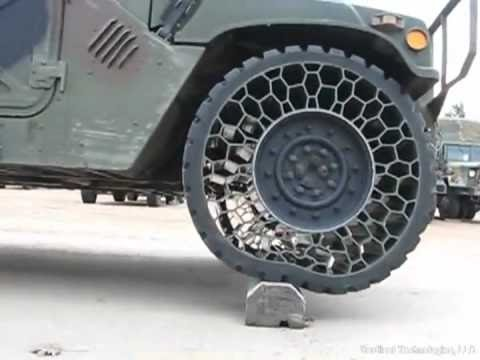 Great Test Drive On No Air Tires Future Technologies