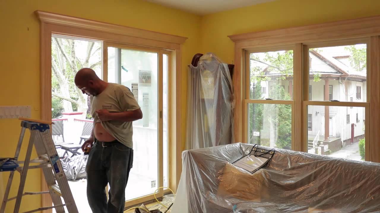 Brooklyn Wood Interior Sliding Glass Patio Door Installation