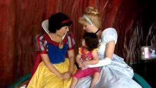 Princess Marisa, Snow White and Cinderella Ride Canal Boats