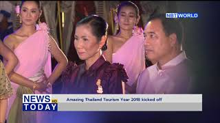 Amazing Thailand Tourism Year 2018 kicked off