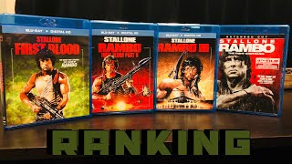 Ranking The Rambo Movies!