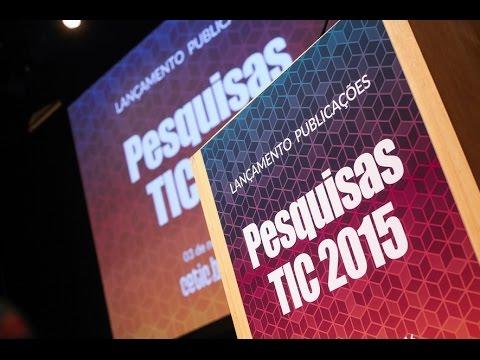 Lançamento Publicações TIC 2015 [áudio original]
