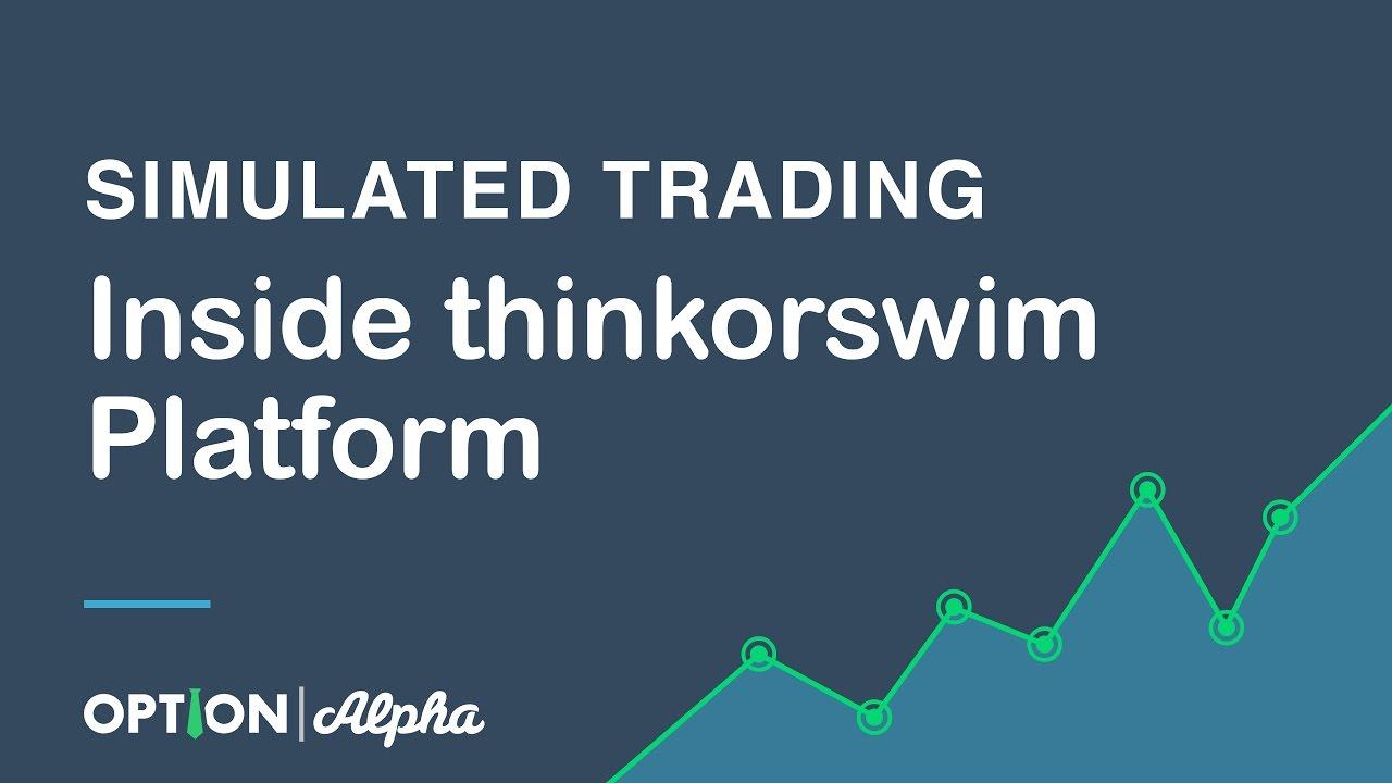 Thinkorswim option trading platform