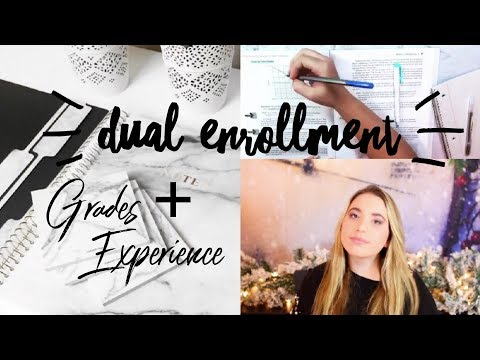 DUAL ENROLLMENT | Final Grades + My Experience