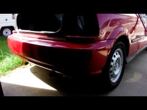 How To Remove rear bumper from 1998 honda civic (hatchback)