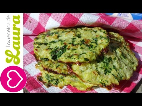 Tortillas ¡Sin Harina! Tortilla de Verduras