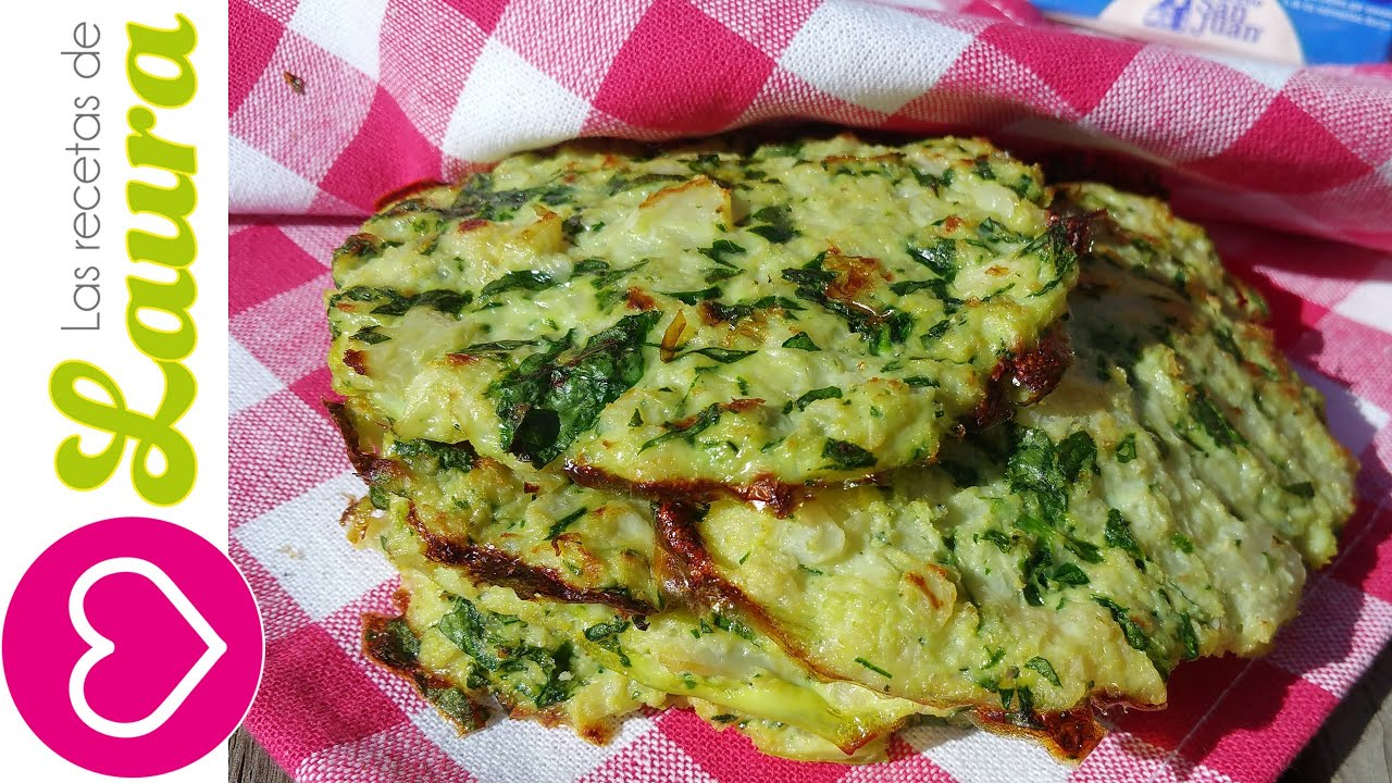 Tortillas Sin Harina Tortilla De Verduras Youtube