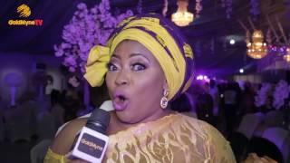 ODUNLADE ADEKOLA BOBRISKY IYABO OJO RUTH KADIRI AT ENIOLA BADMUS FATHER BURIAL RECEPTION