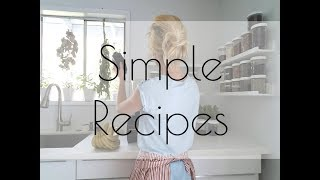 Simple Recipes 🍑  Veggie Stews gluten and dairy free