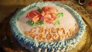Делаю торт для внука