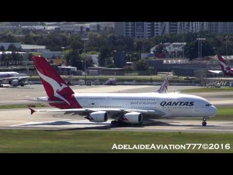 Sydney Plane Spotting from the Rydges Rooftop!