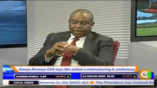 Business Center Discussion On Saving KQ