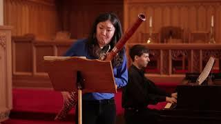 Saint-Saëns - Sonata for Bassoon and Piano - I.  Allegretto moderato - Chen
