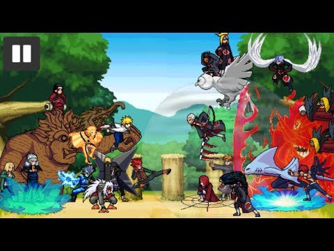 The best naruto 2d game android 2018 youtube.