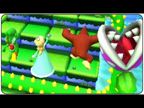 Mario Party Star Rush - All Minigames