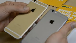 iPhone 6 Unboxing 128Gb Gold & Space Grey / Comparison