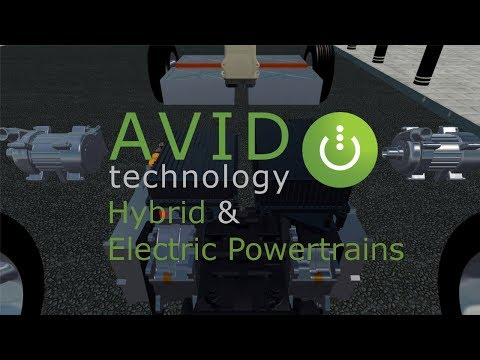 Advanced Hybrid & Electric Powertrains by AVID Technology