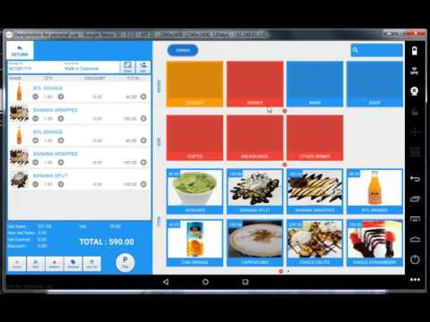 Free Android POS - Point of Sales Cheappos