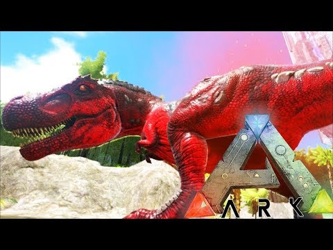 THE TEK T-REX IS THE COOLEST DINO ON THE SERVER - ARK SURVIVAL EVOLVED EXTINCTION EXPANSION #17