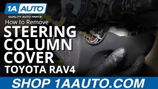Hoe te Verwijderen van de Stuurkolom Cover 05-16 Toyota RAV4