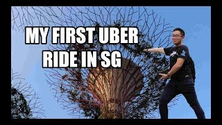 BRUNEIAN TRYING UBER FOR THE FIRST TIME! #SINGAPORE DAY 2