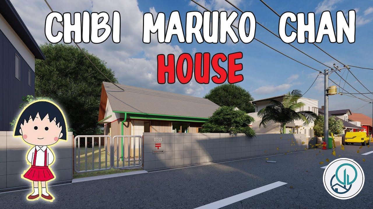 Rumah Chibi Maruko-Chan (Rerender)
