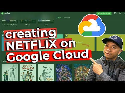 Running Emby on Google Cloud Platform