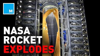 NASA Blows HOLE In Rocket Fuel Tank   Mashable News