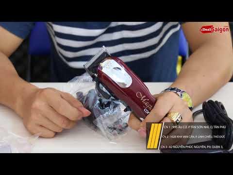 Tông đơ MỸ không dây đáng mua nhất - Magic Clip Không Dây cử nhựa