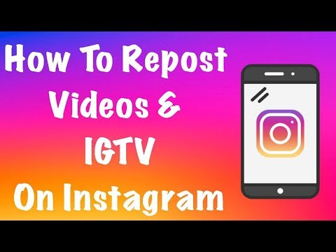 How To Repost Videos & IGTV On Instagram WITHOUT Watermark - FREE Step By Step