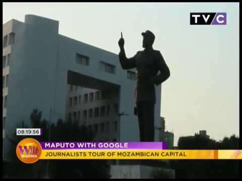 Maputo With Google: Journalists Tour Of Mozambican Capital