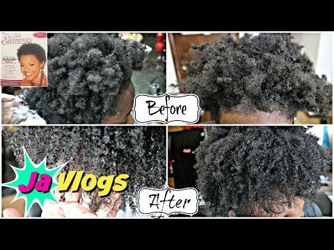 She Got A Texturizer😯 4C Hair | Silk Elements Texturizer