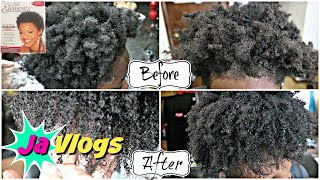 She Got A Texturizer 4c Hair Silk Elements Family Vlogs Javlogs