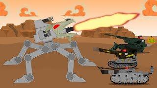 Сумеречный отряд. Битва с монстром Огнедемон - Мультики про танки