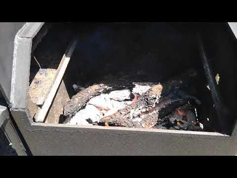 Matt's BBQ Pits LLC Low Maintenance Fire