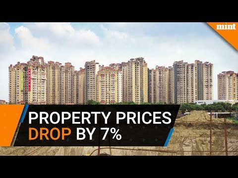Property prices drop by 7% in 9 cities in January-March: report