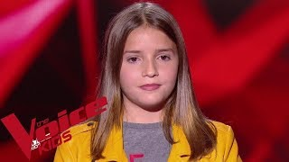 Adele - All I ask | Valéria |  The Voice Kids France 2019 | Blind Audition
