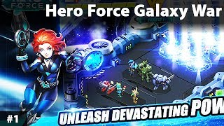 Hero Force Galaxy War Android Gameplay Game Walkthrough
