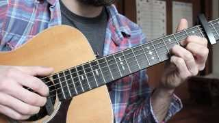 Green Green Rocky Road - Guitar Lesson - Dave Van Ronk, From Inside Llewyn Davis