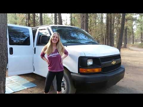 Vanlife Van Tour! 2016 Chevy Express Cargo Van