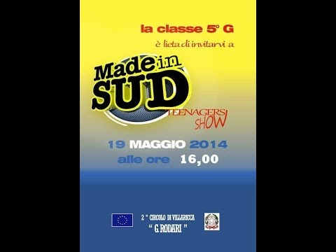 MADE IN SUD!!