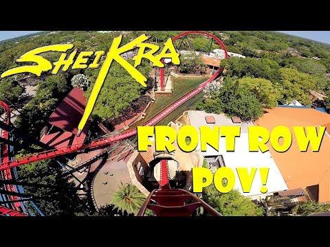 Sheikra FRONT ROW HD POV Busch Gardens Tampa!