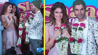 Rajkummar Rao Got Married To Kriti Kharbanda At Shaadi Mein Zaroor Aana Trailer Launch