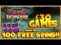 £30 STAKE!! Can I get 100 FREE SPINS??