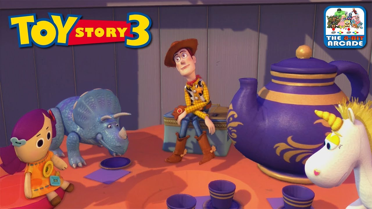 All Toy Story 3 Games : Toy story the video game bonnie s house toys xbox