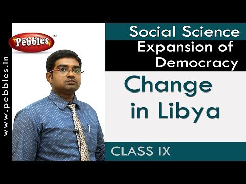 Change in Libya : Expansion of Democracy | Social | AP&TS Syllabus | Class 9