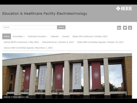 IEEE Education & Healthcare Facilities Committee: Preview of ASBO Presentation | October 4, 2015